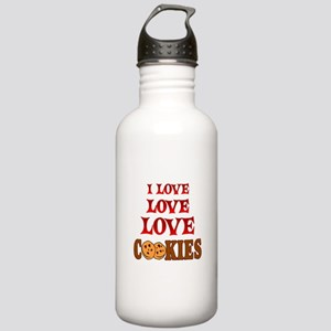 Love Love Cookies Stainless Water Bottle 1.0L