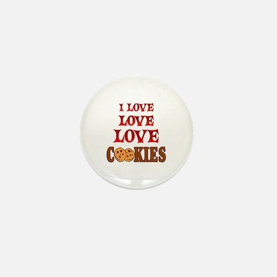 Love Love Cookies Mini Button