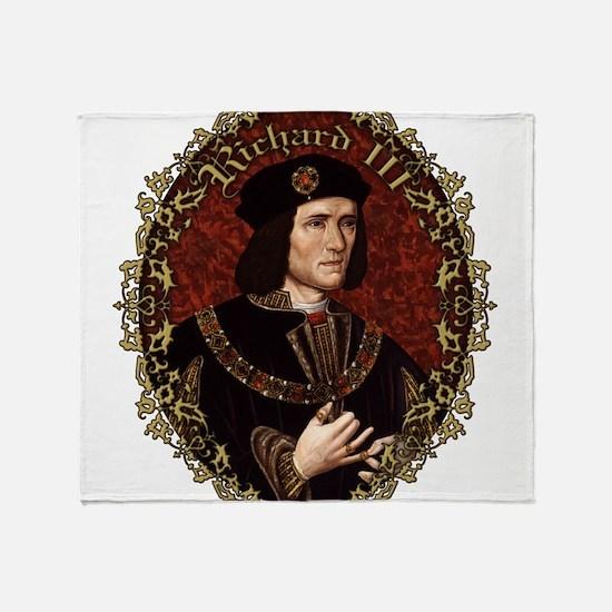 Richard III Throw Blanket