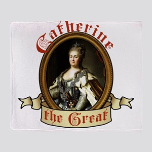 Catherine The Great Throw Blanket