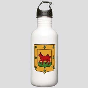 Borgia Coat Of Arms Stainless Water Bottle 1.0L