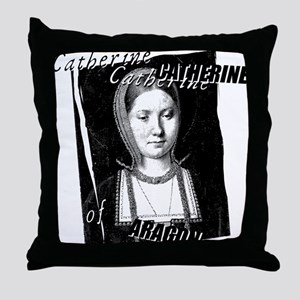 Catherine Of Aragon Graphic Throw Pillow