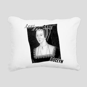 Anne Boleyn Graphic Rectangular Canvas Pillow