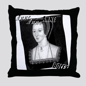 Anne Boleyn Graphic Throw Pillow
