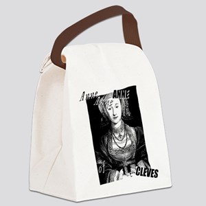 Anne Of Cleves Graphic Canvas Lunch Bag