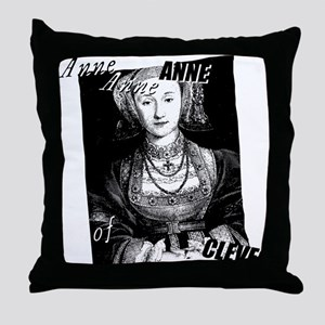 Anne Of Cleves Graphic Throw Pillow