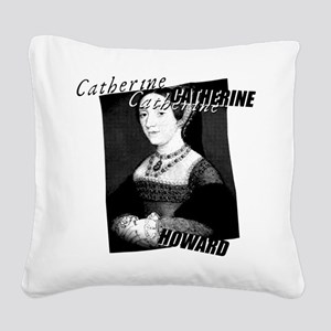 Catherine Howard Graphic Square Canvas Pillow