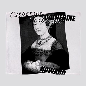 Catherine Howard Graphic Throw Blanket