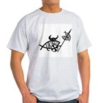 Viking Fish Ash Grey T-Shirt