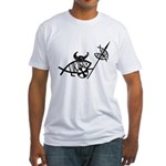 Viking Fish Fitted T-Shirt