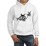 Viking Fish Hooded Sweatshirt