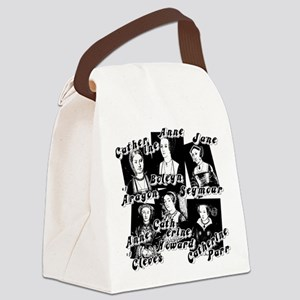 Wives Of Henry The Eighth Canvas Lunch Bag