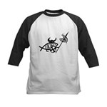 Viking Fish Kids Baseball Jersey