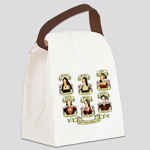 Fates Of Henry VIII Wives Canvas Lunch Bag