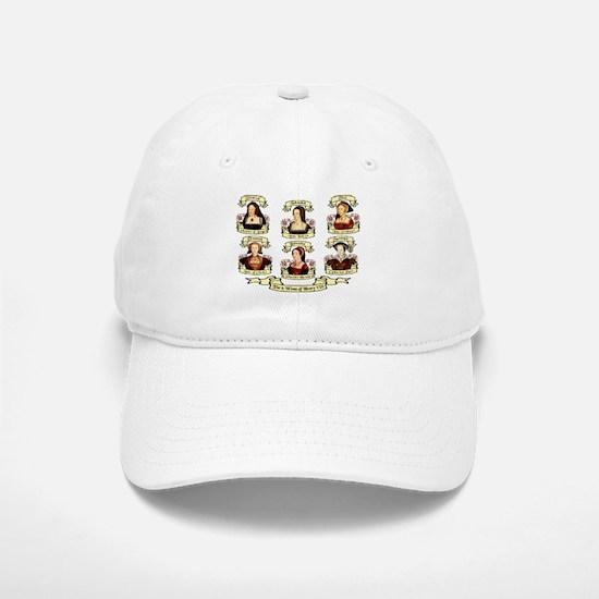 Fates Of Henry VIII Wives Baseball Baseball Cap