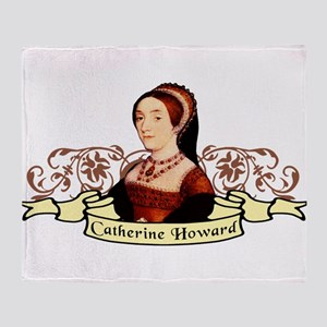 Catherine Howard Throw Blanket