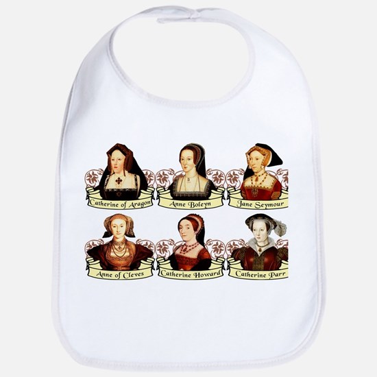 Six Wives Of Henry VIII Bib