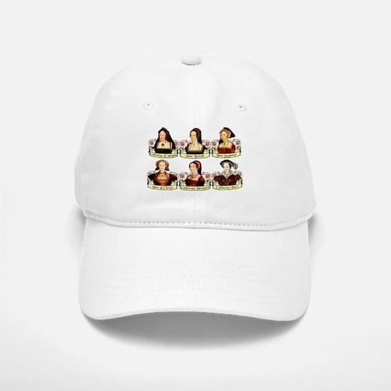 Six Wives Of Henry VIII Baseball Baseball Cap
