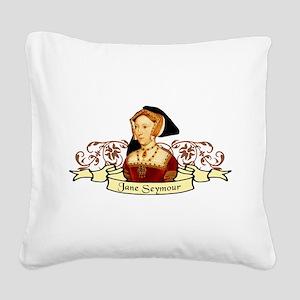 Jane Seymour Square Canvas Pillow
