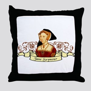Jane Seymour Throw Pillow