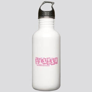 Divorced Beheaded Died Pink Stainless Water Bottle