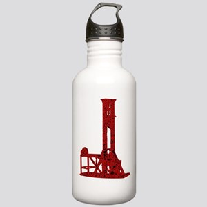 Red Guillotine Stainless Water Bottle 1.0L