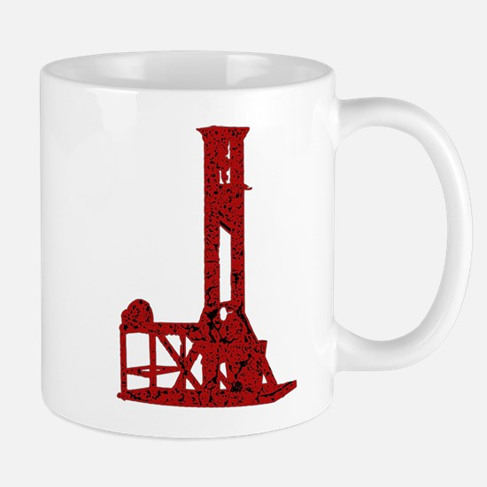 Red Guillotine Mug