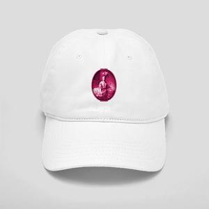 Marie Antoinette Pink Portrait Cap