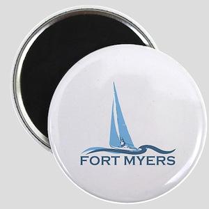 Fort Myers - Sailing Design. Magnet