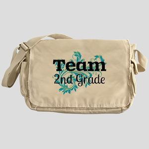 Team 2nd Grade Messenger Bag