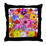 Eileen's Multifloral Throw Pillow