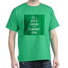 Get High And Carry On Dark T-Shirt