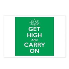 Get High And Carry On Postcards (Package of 8)