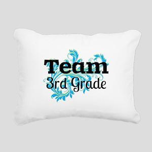 Team 3rd Grade Rectangular Canvas Pillow