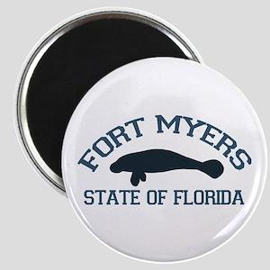 Fort Myers - Manatee Design. Magnet