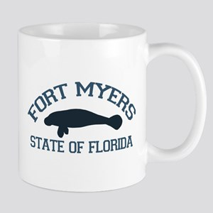 Fort Myers - Manatee Design. Mug