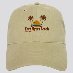 Fort Myers - Palm Trees Design. Cap