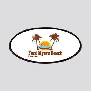 Fort Myers - Palm Trees Design. Patches