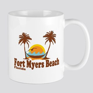 Fort Myers - Palm Trees Design. Mug