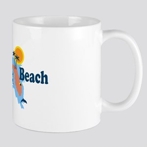 Fort Myers - Map Design. Mug