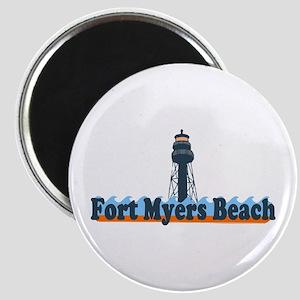 Fort Myers - Lighthouse Design. Magnet