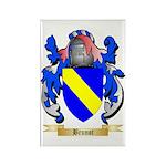 Brunot Rectangle Magnet (100 pack)