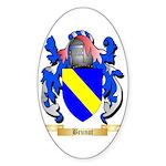 Brunot Sticker (Oval 50 pk)