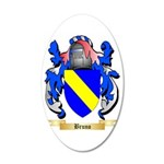 Bruno 35x21 Oval Wall Decal