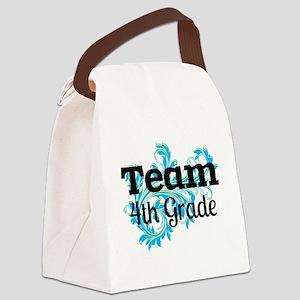 Team Fourth Grade Canvas Lunch Bag
