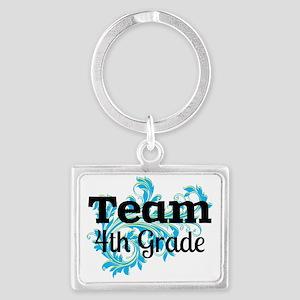 Team Fourth Grade Keychains