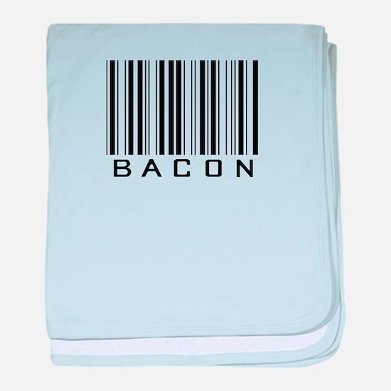 Bacon (barcode) baby blanket