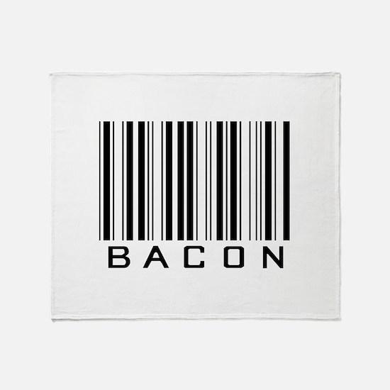 Bacon (barcode) Throw Blanket