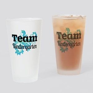 Team Kindergarten Drinking Glass