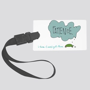 Patient Turtle Luggage Tag